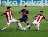 التشكيل الرسمى لمباراة سيلتا فيجو ضد برشلونة فى الدورى الإسبانى
