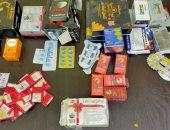 """""""صحة بنى سويف"""": ضبط ألبان مدعمة وأدوية محظور تداولها بالأسواق"""