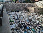 تراكم القمامة بترعة الشرقاوية بقرية الحزانية فى شبين القناطر