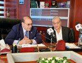 """د. حسن راتب يعلن انضمام الإعلامي أسامة كمال لأسرة شبكة تليفزيون """"المحور"""""""