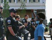 احتجاجات ضد عدم المساواة العرقية بالقرب من البيت الأبيض