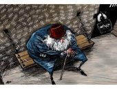 """كاريكاتير صحيفة سعودية.. """" لبنان المنهك مكبل وأسير فى سجن حزب الله  """""""