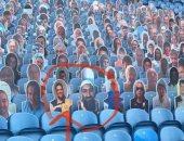 ظهور أسامة بن لادن بمدرجات ليدز يونايتد يثير السخرية فى إنجلترا