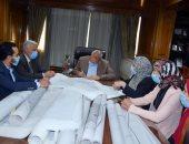 محافظ القليوبية يعتمد المخطط التفصيلى لـ 35 قرية بالخانكة وقليوب وكفر شكر