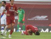 ملخص لمسات محمد صلاح ضد كريستال بالاس في الدوري الإنجليزي