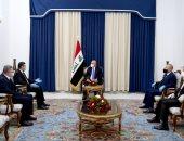 الرئيس العراقى يؤكد أهمية توحيد الخطاب الدينى لمواجهة العنف والتطرف