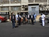 محافظ الجيزة يتفقد أعمال تطوير شارع جمال الدين الأفغانى بالعمرانية