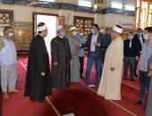 محافظ الدقهلية يتفقد مسجد النصر بالمنصورة: هنيئا للجميع العودة لبيوت الله