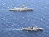 القوات البحرية المصرية والإسبانية تنفذان تدريبا بحريا بنطاق الأسطول الجنوبى بالبحر الأحمر