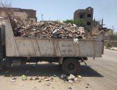 مدينة الأقصر تطلق حملة نظافة بمنطقة  حي وسط