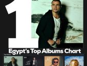 """عمرو دياب يحتفل بتصدر """"سهران"""" قائمة أفضل ألبومات مصر على Apple Music"""
