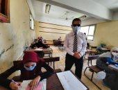 صور.. محافظ الغربية يتفقد لجان الثانوية العامة بالمحلة وسمنود