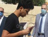 صور.. مدير تعليم القاهرة يتفقد إجراءات الوقاية فى لجان الثانوية العامة