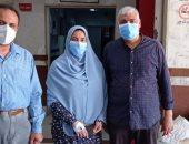 صور.. خروج 67 حالة مصابة بكورونا من مستشفيات العزل بالشرقية