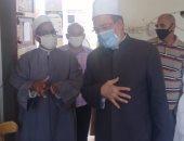 محافظ بنى سويف: طبيب وزائرة صحية بكل لجنة للمرور على الطلاب خلال امتحاناتهم