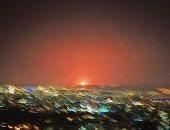 """شاهد.. فيديو جديد لانفجار ضخم يهز العاصمة الإيرانية """"طهران"""""""