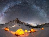 صور لمجرة درب التبانة من مواقع مختلفة تشارك فى مسابقة التصوير الفلكى