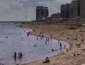حر لا يطاق.. سيبيريا تواجه طقسا قياسيا فى ارتفاع درجات الحرارة.. فيديو