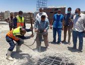 محافظ أسيوط: تنفيذ 4 قرارات إزالة لعدد من مخالفات البناء خلال حملة مكبرة بحي غرب