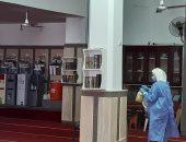 فتيات بشمال سيناء يطهرن المساجد قبيل صلاة الظهر