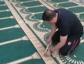 أهالى قرية الغابة البلد بالشرقية يطهرون المساجد وينظمون التباعد الاجتماعى