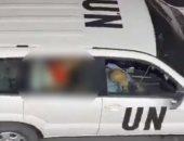 """سبوتنيك: صدمة داخل الأمم المتحدة بسبب """"فيديو فاضح"""" فى إحدى سياراتها بإسرائيل"""