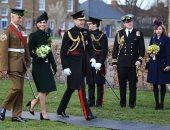 يوم القوات المسلحة.. ملكة وأمراء بريطانيا يستعيدون ذكرياتهم بالجيش (فيديو)