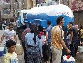 """شكوى سكان شارع حسين الضو بفيصل """"انقطاع دائم للمياه ولما بتيجى بتكون ضعيفة"""""""
