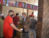 محافظ القليوبية يتابع عودة نشاط المطاعم والمقاهى ويشدد على الغلق للمخالفين