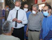 خروج 72 حالة تعافت من مستشفى فرشوط بقنا.. صور