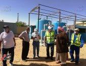 صور.. مشروعات مياه جديدة تروى أرض الفيروز تتخطى قيمتها 190 مليون جنيه