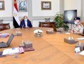 السيسى يستعرض جهود الهيئة الهندسية ويوجه بتوفير الخدمات للمواطنين على الطرق