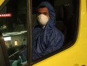 """الجيش الأبيض.. """"عبد الدايم"""" سائق بهيئة الإسعاف على خط المواجهة فيروس كورونا"""
