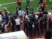 معركة بالأيدى فى الدوري التركي.. صور