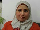 تعيين رحاب عبد الرؤف أمينا لكلية الآداب جامعة الفيوم