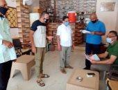 لجان مجالس المدن بالبحر الأحمر تمر على المقاهى للتأكد من تطبيق الإجراءات.. صور