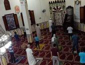 الأوقاف: المصلون إلتزموا بضوابط وإجراءات الوقاية فى اليوم الثانى لفتح المساجد.. صور