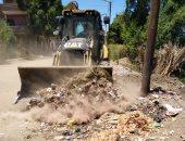 مدينة الزينية بالأقصر تعلن رفع 18 طن مخلفات صلبة وقمامة فى 24 ساعة