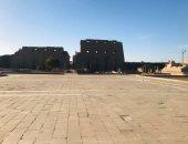 صور .. المعابد والمقابر الفرعونية بالأقصر تتزين لاستقبال السائحين أول يوليو