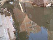 شكوى من غرق شوارع مدينة الهدى بمياه الصرف الصحى فى حى المرج بالقاهرة