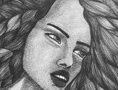 """قارئة تشارك """"صحافة مواطن"""" برسومات فنية تبرز موهبتها"""