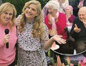 صور ريبل ويلسون تحتفل بعيد ميلاد جدتها التسعين