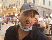 شاهد ماذا قال أصحاب المحال فى شارع عماد الدين بعد إعادة الفتح؟