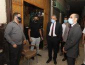محافظ سوهاج الكافيهات والمقاهى ويشدد على الالتزام بالإجراءات الإحترازية