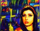 """لوحة حية للنجمة نبيلة عبيد على أنغام """"أنشودة الفن"""".. فيديو"""