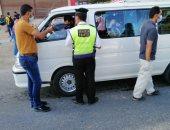 تحرير 1143 مخالفة متنوعة خلال حملة مرورية بالإسماعيلية