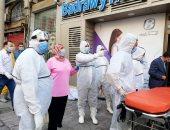 """صور ..""""التضامن الاجتماعى"""" بالاسكندرية: حصر ضحايا حريق المستشفى لصرف تعويضات"""