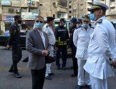 محافظ الإسكندرية : إصابة 9 أشخاص فى حريق المستشفى الخاص
