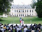 ماكرون يلتقى بمجلس المواطنين الفرنسيين لمناقشة مقترحات البيئة.. صور