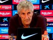 سيتين يعترف بأزمات غرفة خلع ملابس برشلونة قبل قمة أتلتيكو مدريد